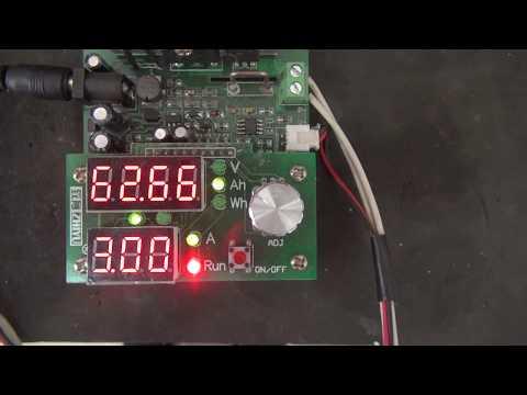 Емкость аккумулятора Topla AGM 60 а.ч.после 8 разрядов по ГОСТу (1-й потерянный файл)