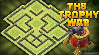 Speed Building I Hdv 8 I Village Rush/Guerre (Propulseur d'air inclue) I Clash Of Clans