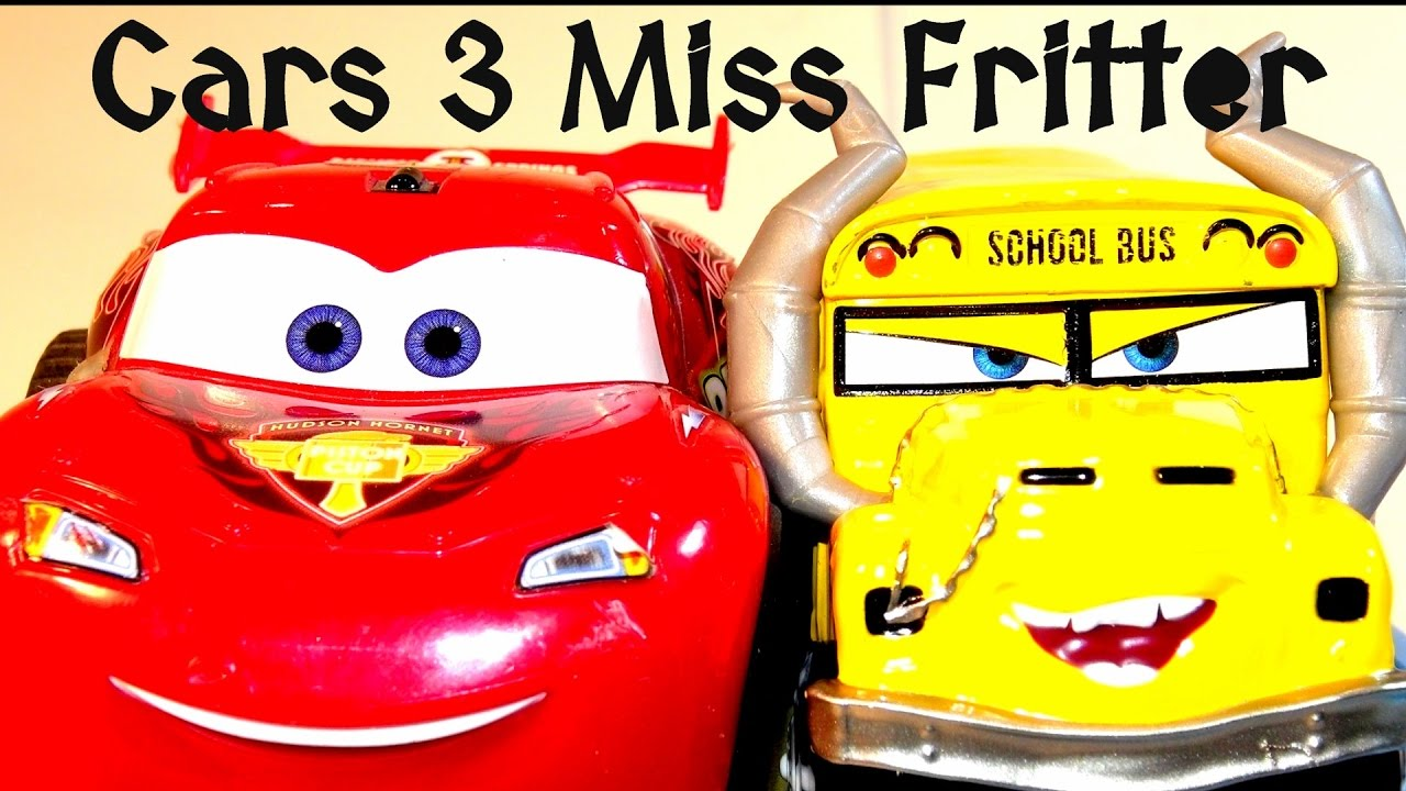 Pixar Cars 3 Unboxing Miss Fritter Derby Inspired School ...