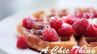 #BreakfastWeek #أسبوع الفطور ,How to Make Waffles, Waffle, وافلز, وافل, أسبوع الفطور