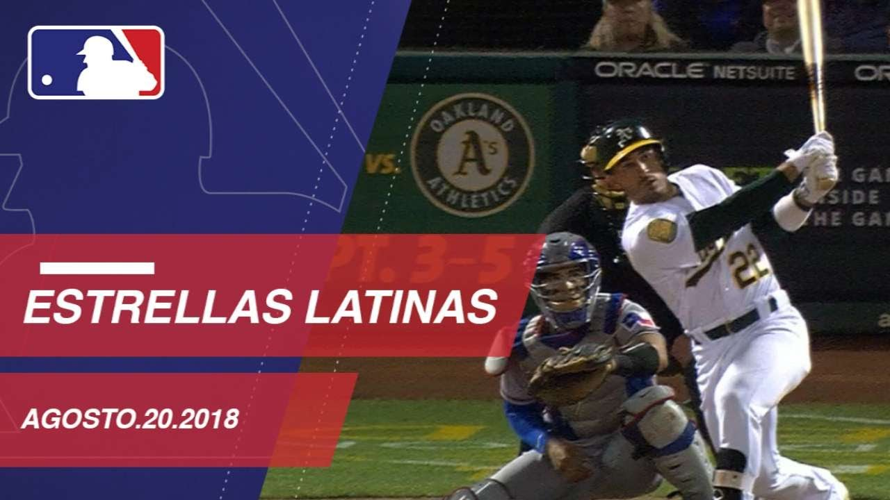 Top Plays on Monday from Latino Players