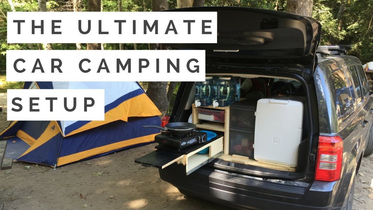 The Ultimate Car Camping Setup