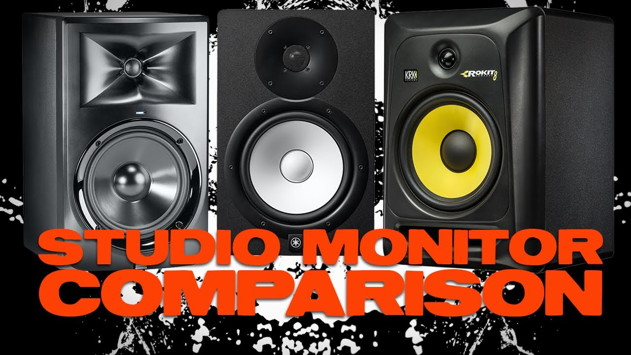 Jbl lsr305 yamaha hs5 and krk rp5g3 comparison review for Yamaha hs5 no bass