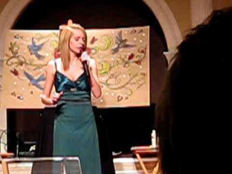 Me Singing Beautiful Stranger - Rebecca St. James