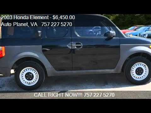 2003 Honda Element DX AWD 4dr SUV for sale in Virginia Beach