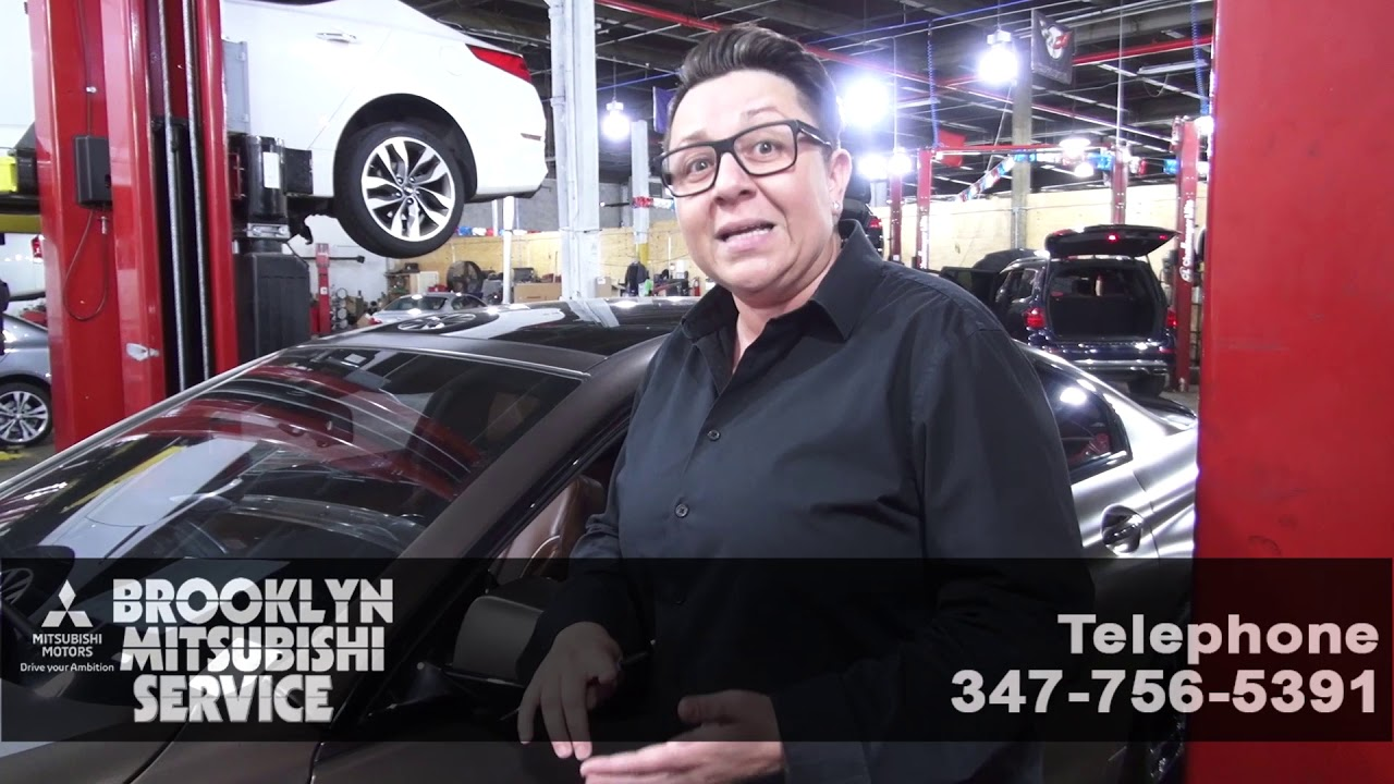 Car Dealerships In Brooklyn >> Pdi Prep Delivery Inspection At Brooklyn Mitsubishi Youtube