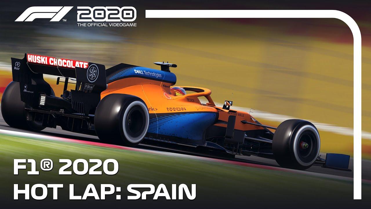 F1 2020 Hot Lap Spain Youtube