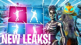 *NEW* Fortnite Leaked Emotes/Skins..! (Electro Swing, Headbanger, Sprinkler, Behold!) - PATCH 6.02