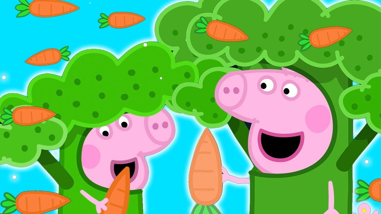 Download Peppa Pig Official Channel | Peppa Pig Becomes Broccoli at Hollywood?!