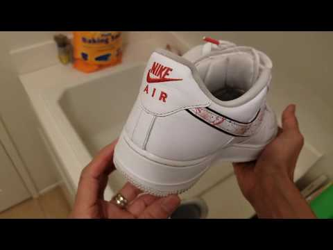 How To Clean Your Nike Air Force 1 AF1 Shoes Kicks Sneakers!