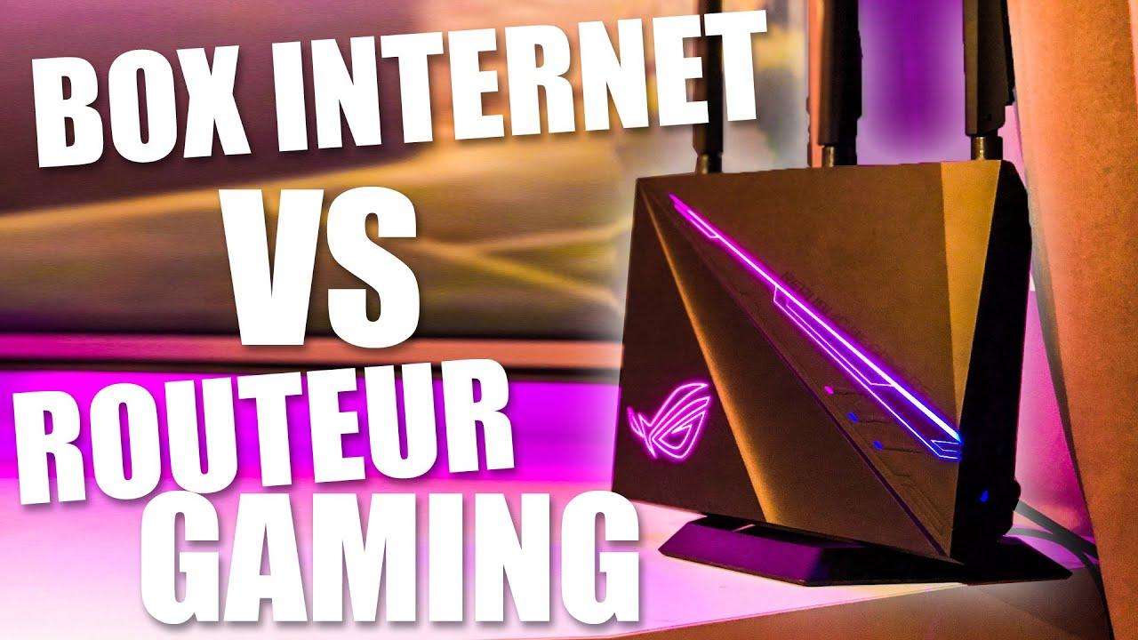 BOX INTERNET VS ROUTEUR GAMING WIFI DUAL BANDE - YouTube