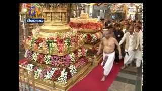 PM Modi Visits Lord Venkateswara Temple In Tirumala