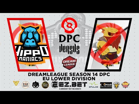 Hippomaniacs vs No Bounty Hunter | BO3 | DreamLeague Season 14 DPC EU Upper Division