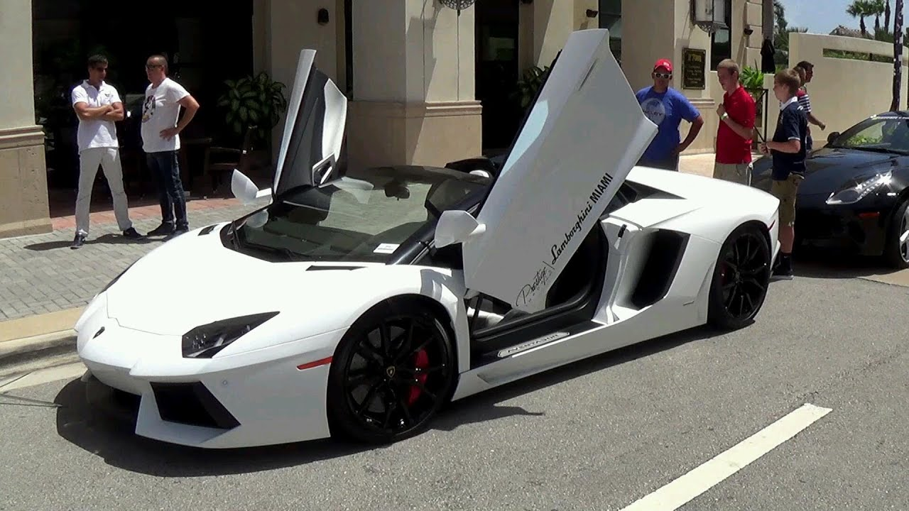SUPERCARS LAMBORGHINI AVENTADOR LP700  4 U0026 LP700 4 ROADSTER BETTER ONLY  VENENO ROADSTER   YouTube