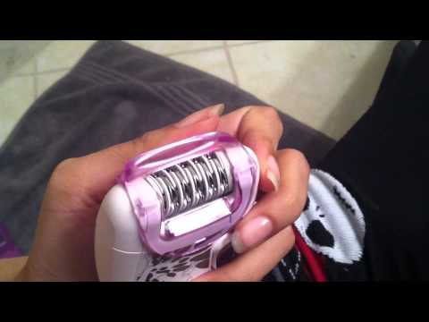 Using Philips HP6401 Satinelle Epilator *WARNING it gets loud*