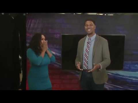 Letty B - Man Proposed To News Reporter During Live Broadcast