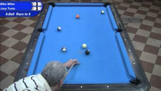 Mike Miller Vs Joey Testa At The Valley Forge Bar Box 8-ball Championships