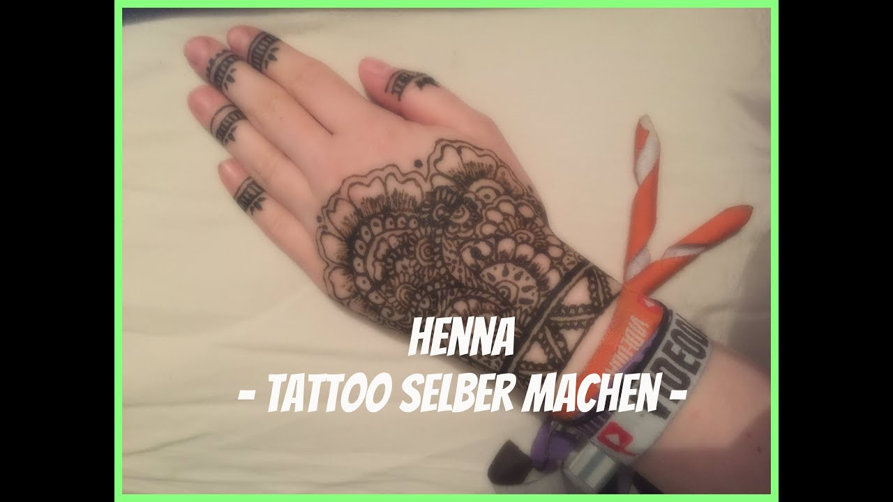 henna tattoo selber machen kira youtube. Black Bedroom Furniture Sets. Home Design Ideas