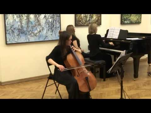 Mozart. Sonata for cello and piano K.V. 338