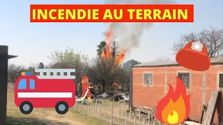 #139 Un incendie sur le terrain // Visite de la caserne des pompiers