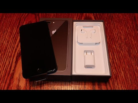 IPHONE 8 PLUS (VIRGIN MOBILE USA) UNBOXING