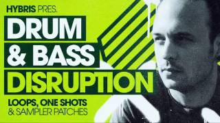 Hybris Drum & Bass Sample Pack - Drum & Bass Disruption
