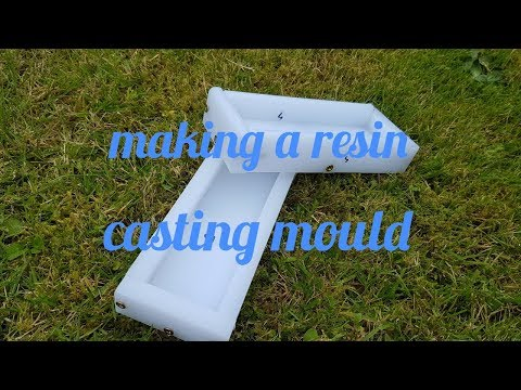 Making resin casting moulds