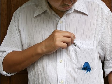 Remove Ink Stain From Cloth In 2 Minutes [100% Working]
