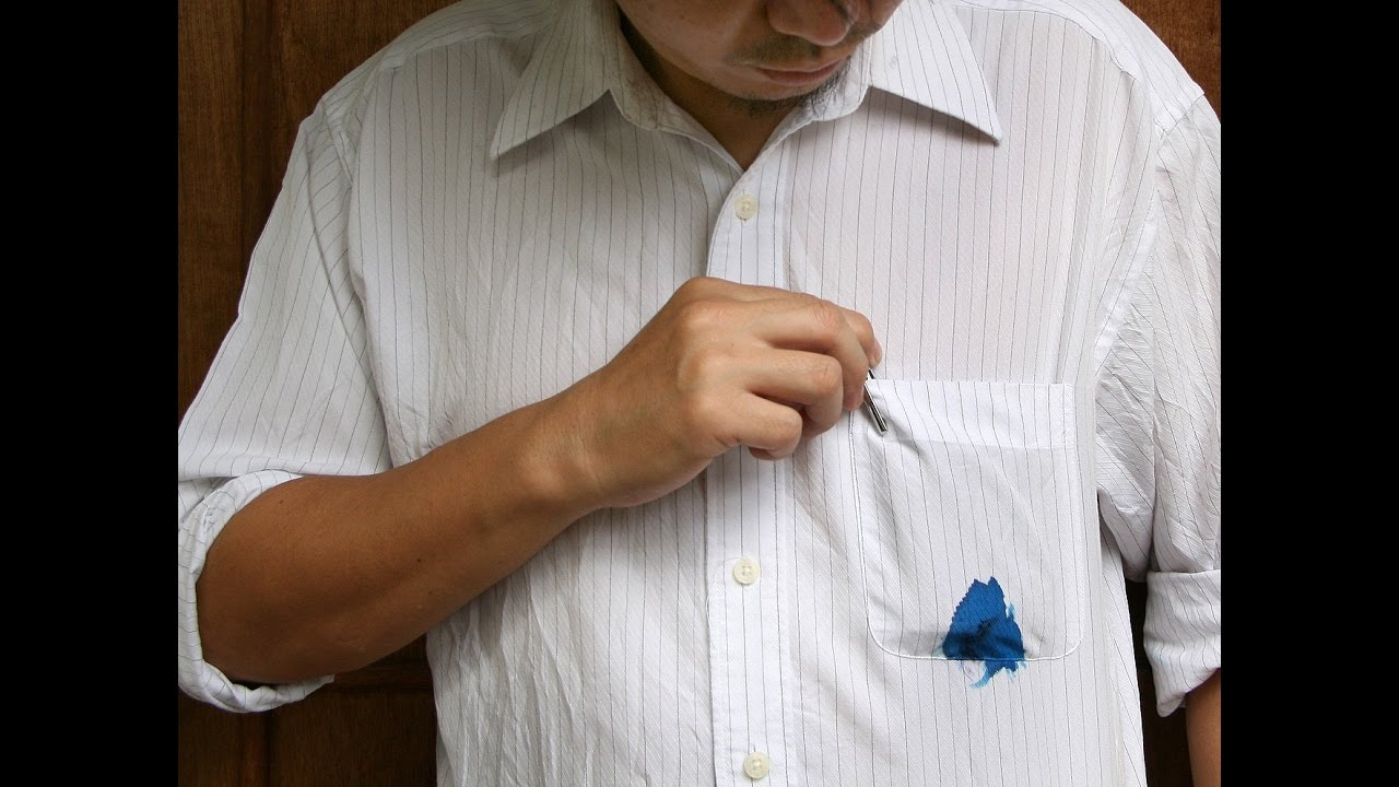 Remove ink stain from cloth in 2 minutes 100 working for How to clean white dress shirts