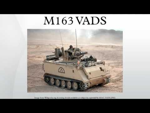 M163 Vads Youtube
