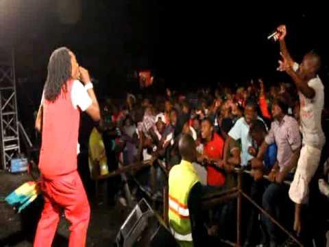 King Shaddy  & macorokoza band @ lion Lager campus night Oct 2013