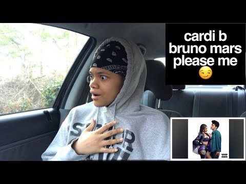 Cardi B - Please Me Ft Bruno Mars REACTION