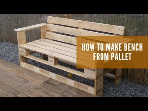 how-to-make-wood-bench-from-pallet