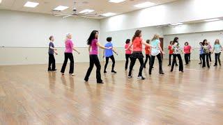 Desert Wind - Line Dance (Dance & Teach in English & 中文)