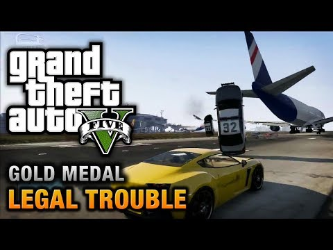 GTA 5 - Mission #66 - Legal Trouble [100% Gold Medal Walkthrough]