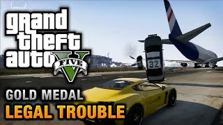 Gta 5 - mission #66 - legal trouble [100% gold medal walkthrough]