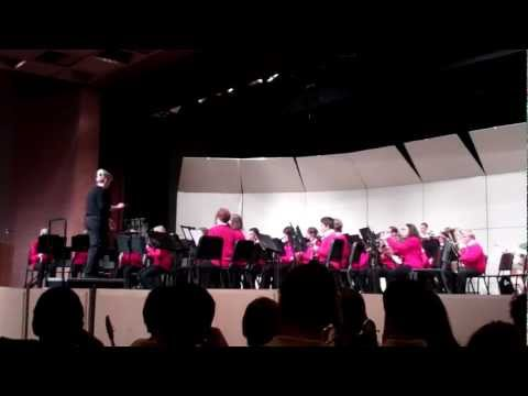 South Park Middle School 8th Grade Band - As the Eagle Flies