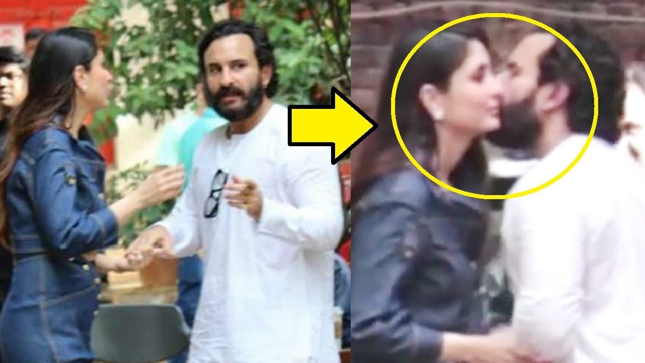 2019 year style- Kareena Saif caught kissing each other