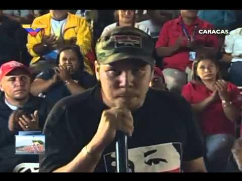 En Contacto con Maduro #51, parte 13/17, Consejo Presidencial Juventud, habla José Bombace
