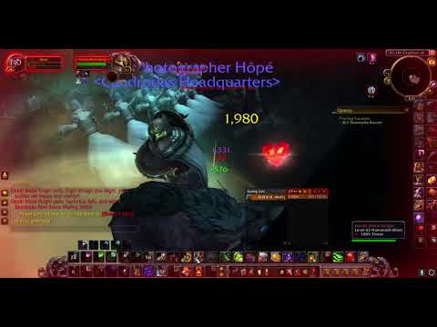 Darkmoon Faire Death Metal Knight Level 60 Druid Solo