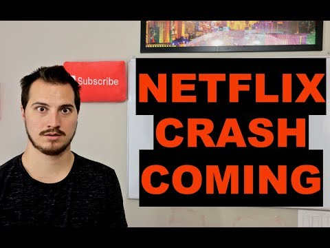 Netflix Stock Setting Up For A Crash?!