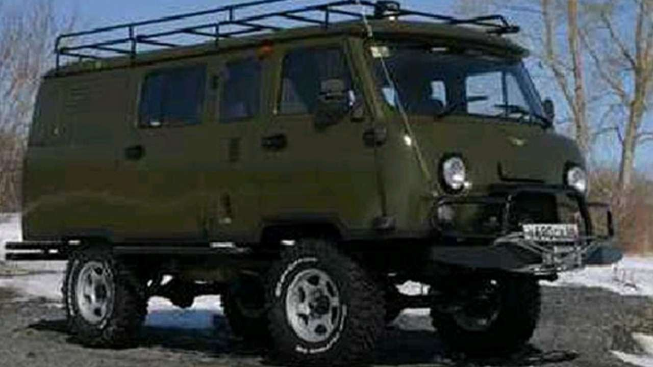 #1465. UAZ 452 Brick [RUSSIAN SUPER AUTO] - YouTube