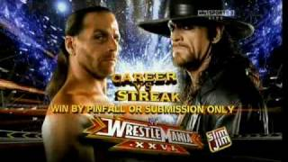 WWE WrestleMania 26 - Full Match Card (HQ)