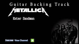 Metallica - Enter Sandman (Guitar Backing Track) w/Vocals