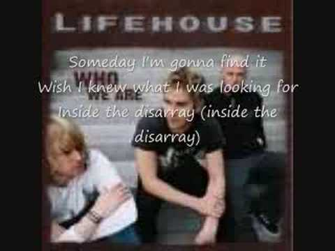 Lifehouse  Disarray w lyrics