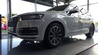 2015 Audi Q7. Обзор.