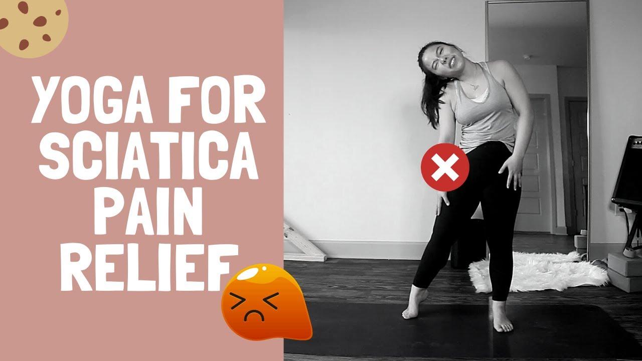 【瑜伽】坐骨神经痛?瑜伽缓解来啦!Yoga for Sciatica Pain Relief