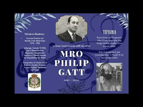 Recording MarciFest - 25 Sena Anniversarju mill-Mewt ta' Mro. Philip Gatt -  15/11/2020