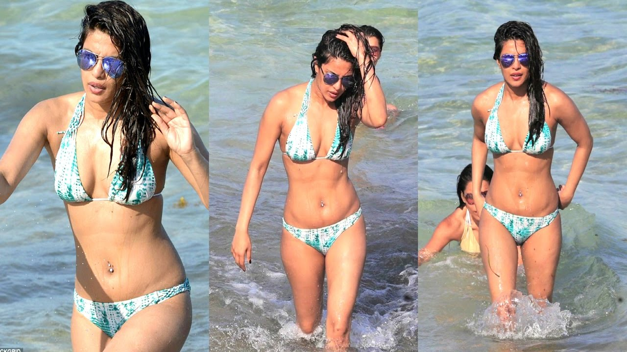 Priyanka Chopra On Beach