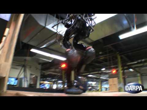 DARPA – Atlas Proto Robot Masters Stairs [720p]